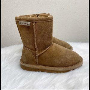 BearPaw Winter Suede Boots Tan